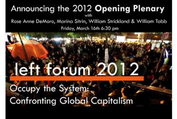 STOP Participa do Fórum Social 2012 da Pace University de Nova Iorque, EUA