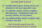 The Value of a Society can be Found in the Good it Produces – Program 261
