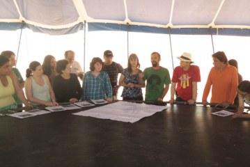 Veja fotos do curso de permacultura na Aldeia do Divino em Cambuquira – MG