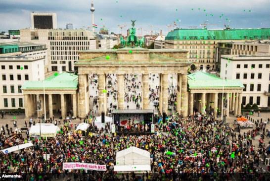Caminhada pelo clima reúne quase 1 milhão em todo o mundo