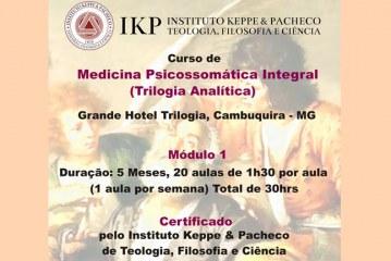 Curso de Medicina Psicossomática Integral em Minas Gerais