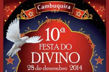 X Festa do Divino em Cambuquira – MG, 28 de Dezembro de 2014
