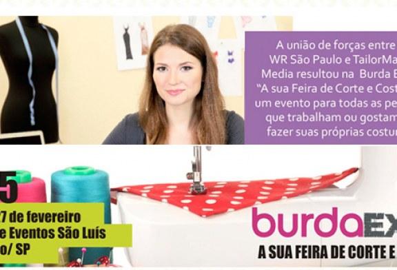 Ação do Bem é destaque na Burda Expo 2015, a primeira feira de corte e costura do Brasil