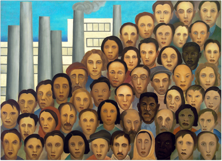 O ser humano organizou uma sociedade doente, como ele próprio é