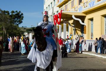 Veja como foi a 12ª Festa do Divino em Cambuquira