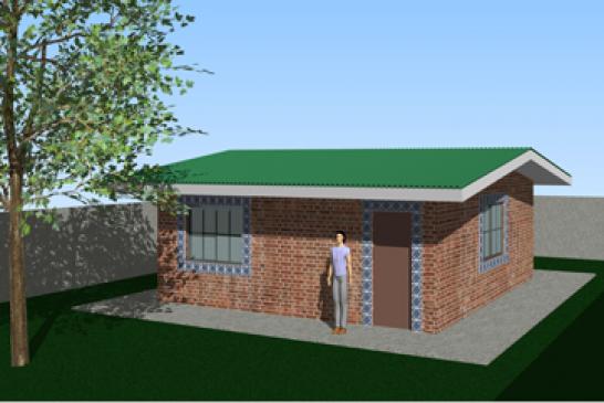 Tem início construção da primeira casa popular com tijolos ecológicos em Cambuquira