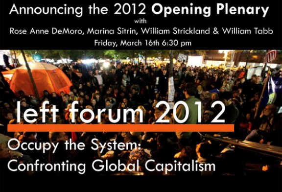 The STOP Association will participate at the 2012 Social Forum at Pace University
