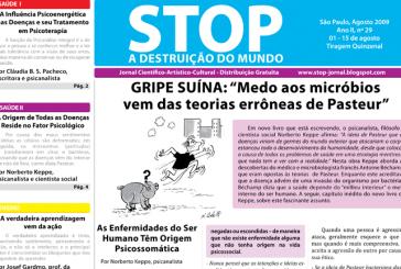 "GRIPE SUÍNA: ""Medo aos micróbios vem das teorias errôneas de Pasteur"""