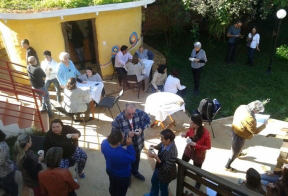 Alunos se emocionam com a abertura das novas instalações da Associação Keppe Pacheco em Cambuquira.