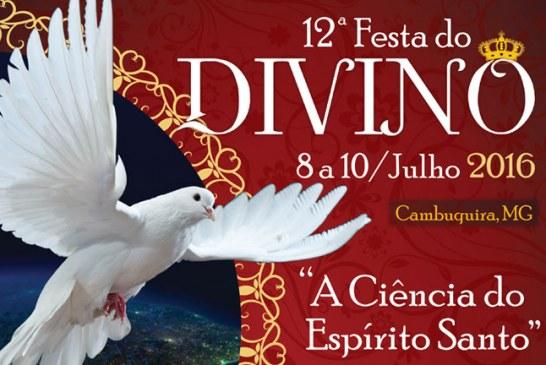 12ª Festa do Divino – 8 a 10 de julho de 2016