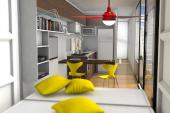 Ventiladores Keppe Motor Universe refrescarão casa sustentável Contein na FECONATI 2015