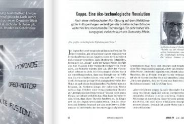 Keppe Motor: an eco-technological revolution