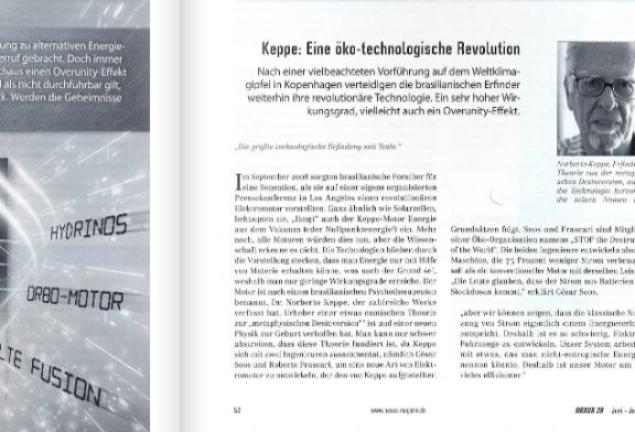 Keppe Motor: an eco-technological revolution