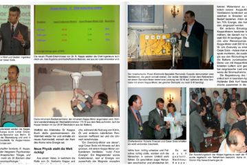 Lectures about Energy in a Congress in Germany