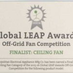 Keppe Motor is selected as finalist in the 2015-16 Global LEAP Awards in USA.