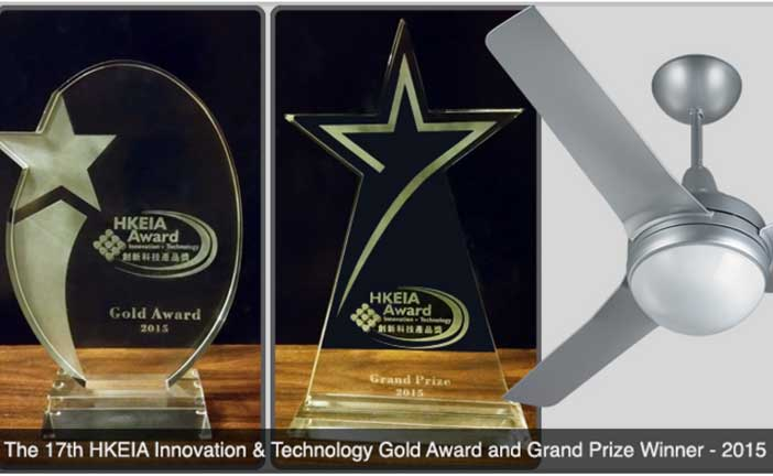Keppe Motor Wins The Grand Prize of 17th HKEIA Award for Outstanding Innovation & Technology Products