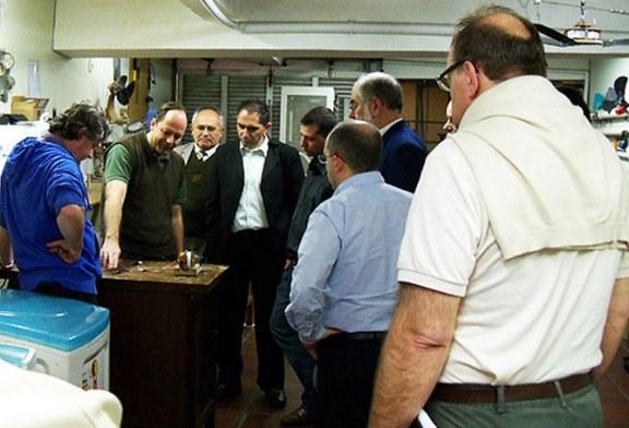 SENAI visits Keppe Motor Lab