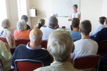 Centro de Trilogia Analítica na Suécia realiza palestra sobre A cura pela consciência